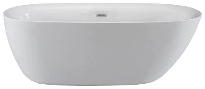 Ванна отдельностоящая Cerutti B-7123 170x75 акрил — купить по выгодной цене на Яндекс.Маркете