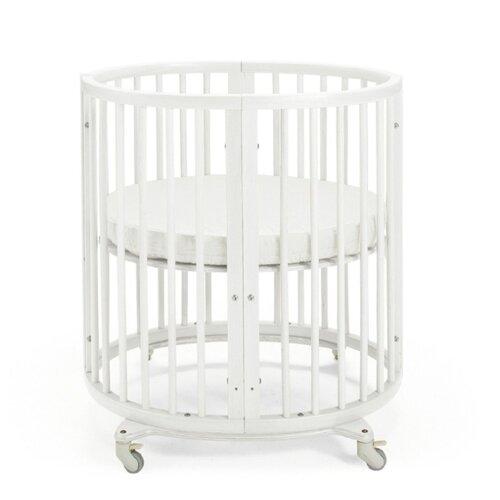 Кроватка Stokke Sleepi Mini (трансформер) белый кроватка jakomo teo 7 в 1 трансформер белый
