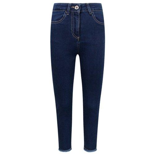 Джинсы PATRIZIA PEPE размер 152, синий джинсы patrizia pepe размер 152 0325 белый зеленый