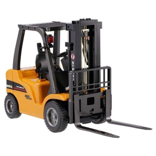 Купить Погрузчик HuiNa 1577 50 см оранжевый/черный, Радиоуправляемые игрушки