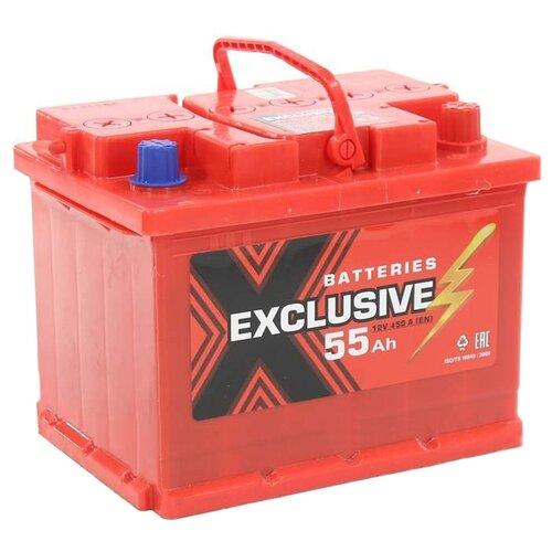 Автомобильный аккумулятор Exclusive 6СТ-55 О/П аккумулятор firebal 6ст 90nr