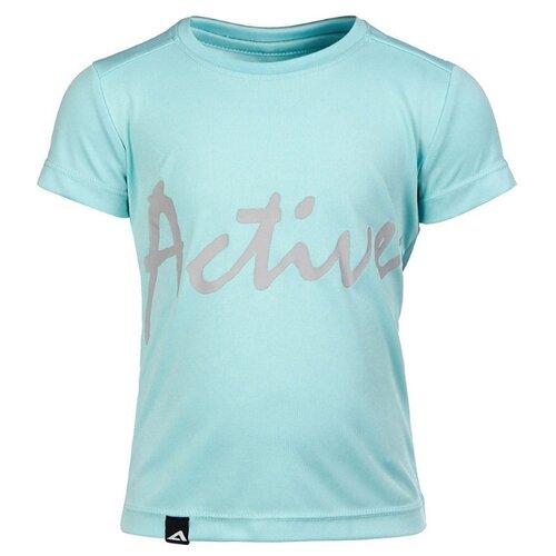 брюки для девочки acoola tamarind цвет светло бирюзовый 20210160213 9300 размер 152 Футболка Oldos размер 152, светло-бирюзовый