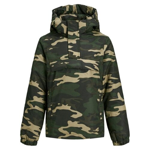 Анорак Jack & Jones 12156086 размер 128, хаки, Куртки и пуховики  - купить со скидкой