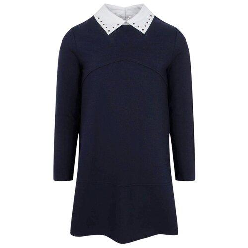 Купить Платье Silver Spoon Life & School размер 152, темно-синий-309, Платья и сарафаны