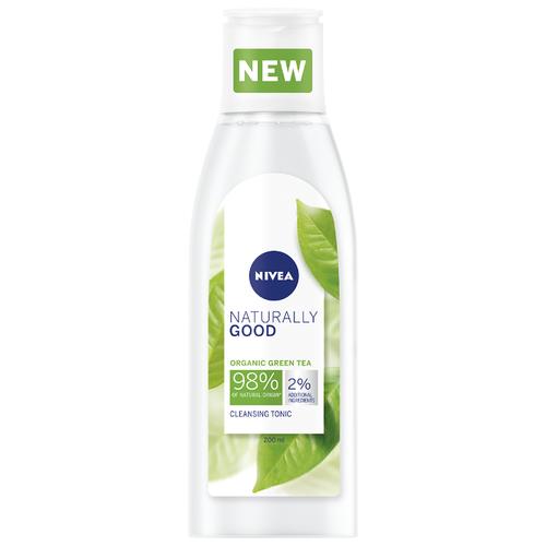 Купить Nivea очищающий тоник для лица Naturally Good, 200 мл
