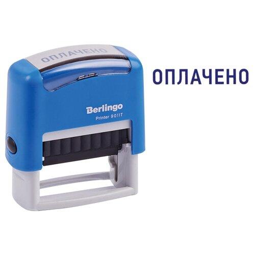Фото - Штамп Berlingo Printer 9011Т прямоугольный Оплачено синий geeetech gt7l 3d printer extruder j head nozzle silver