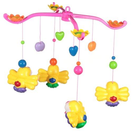Купить Электронный мобиль Jocund Baby Птички HL2012-6 мультицвет, Мобили