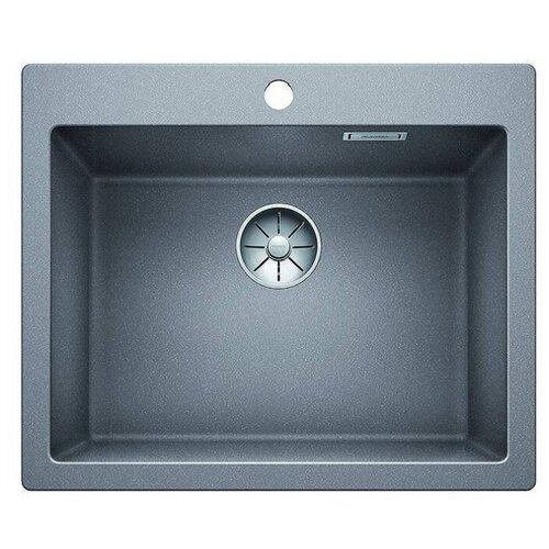 Врезная кухонная мойка 61.5 см Blanco Pleon 6 алюметаллик