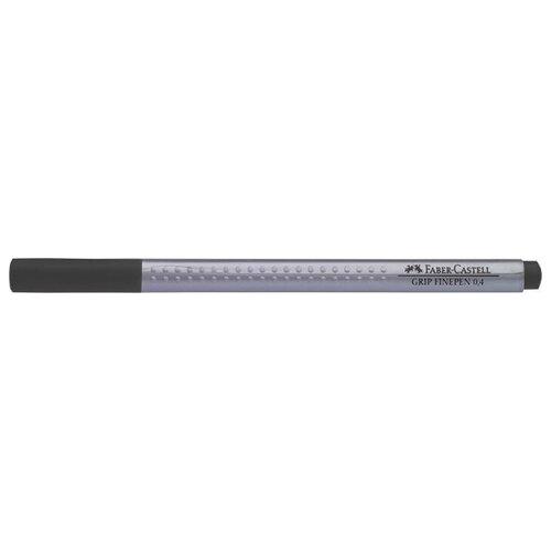 Faber-Castell ручка капиллярная Grip Finepen 0.4 мм, черный цвет чернил graf von faber castell ручка роллер bentley черный цвет чернил