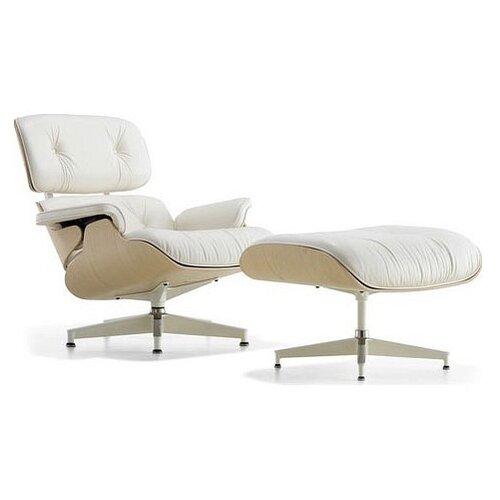 Кресло-реклайнер Everprof Relax обивка: натуральная кожа, цвет: white