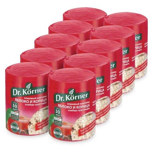 Фото - Dr. Körner хлебцы Злаковый коктейль Яблоко и корица, 10 шт по 90г хлебцы многозерновые dr korner злаковый коктейль яблоко и корица 90 г