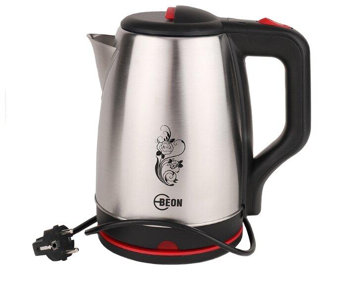 Купить Чайник Beon BN-394, серебристый по низкой цене с доставкой из Яндекс.Маркета