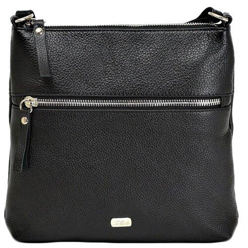 Сумка кросс-боди Solo, натуральная кожа, черный сумка solo 143 черный