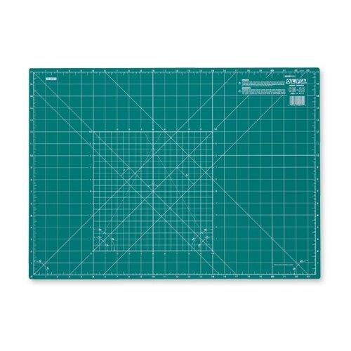 Купить Мат раскройный двусторонний, толщина 2 мм, 60 х 43 см / 23 x 17 Olfa CM-A2, Инструменты и аксессуары