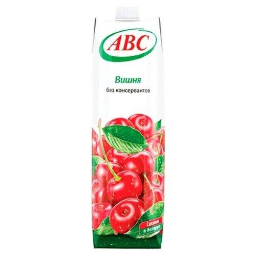 Нектар ABC Вишня, 1 л добрый нектар мультифрут 0 33 л