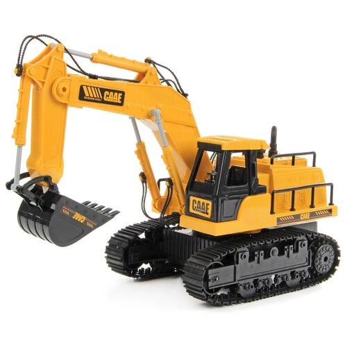 Купить Экскаватор DRIFT 83586 1:22 34 см желтый/черный, Радиоуправляемые игрушки