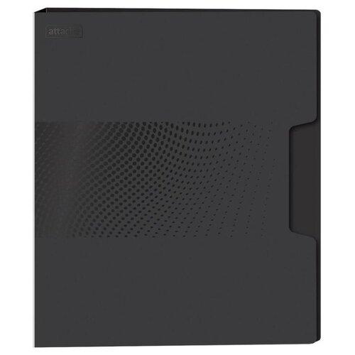 Attache Папка-скоросшиватель с пружинным механизмом Digital А4+, пластик черный attache папка скоросшиватель fluid а4 пластик фиолетовый