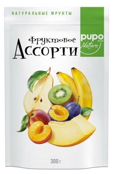 Смесь сухофруктов PUPO Nature Фруктовое ассорти 300 г