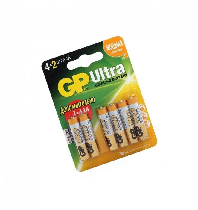 Батарейка GP Ultra Alkaline AАA — купить по выгодной цене на Яндекс.Маркете