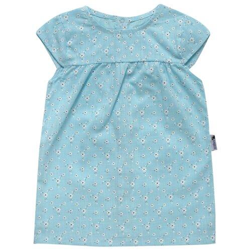 Платье Клякса размер 26-92, голубой