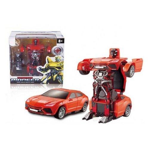 Купить Радиоуправляемый робот-трансформер JQ Troopers Pioneer, Jia Qi, Роботы и трансформеры