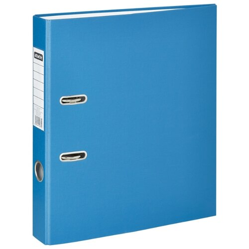 Купить Attache Папка-регистратор Economy A4, бумвинил, 50 мм синий, Файлы и папки