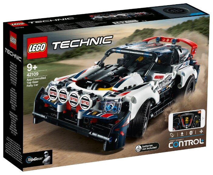 Конструктор LEGO Technic 42109 App-Controlled Top Gear Rally Car