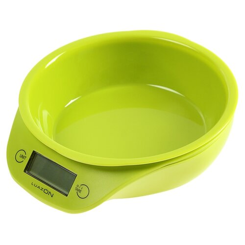 Кухонные весы Luazon LVKB -501 зеленый кухонные весы eltron el 9259 зеленый