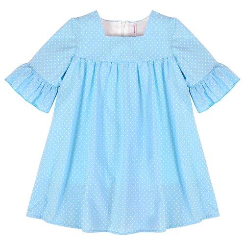 Купить Платье Мамуляндия размер 116, голубой, Платья и сарафаны