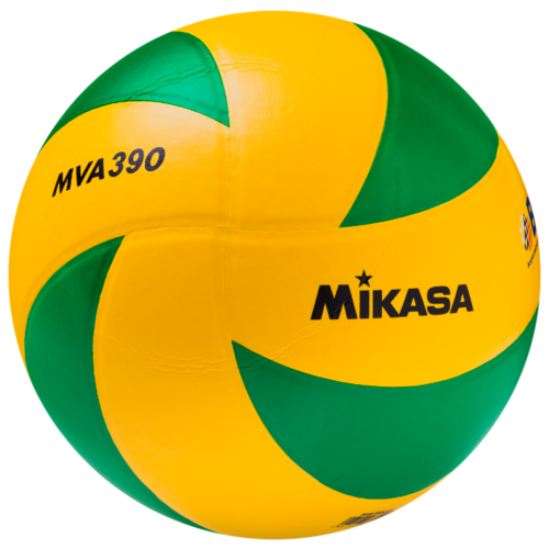 Волейбольный мяч Mikasa MVA390 желтый/зеленый мяч волейбольный mikasa mva300 синий желтый размер 5