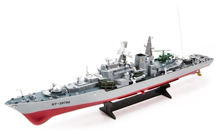 Корабль Heng Tai HT-2879A 78 см серый фото 1