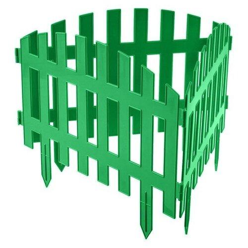 Забор декоративный Гарденпласт RENESSANS №2, зелeный, 3.1 х 0.5 м