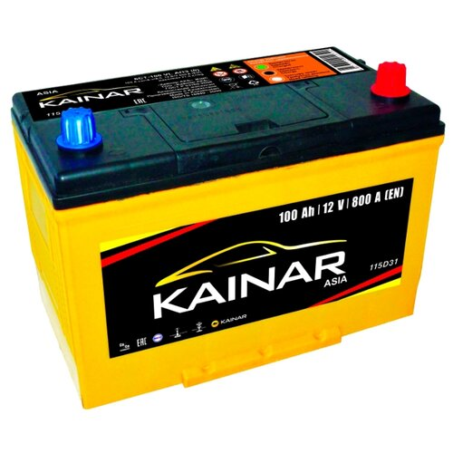 Аккумулятор Kainar Asia 6СТ100 VL АПЗ о.п. 115D31L фото