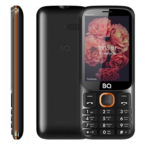 Телефон BQ 3590 Step XXL+, черный / оранжевый мобильный телефон bq step xxl 3590 64mb черный синий 2sim 3 5 tft 320x480