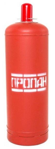 Газовый баллон NOVOGAS 50 л с предохранительным клапаном стальной 50 л