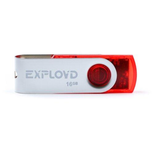 Фото - Флешка EXPLOYD 530 16GB red флешка exployd 560 16gb red