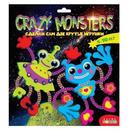 Фото - Дрофа-Медиа Набор для творчества Crazy Monsters (3387) набор для творчества дрофа медиа мягкая картинка для малышей грузовичок