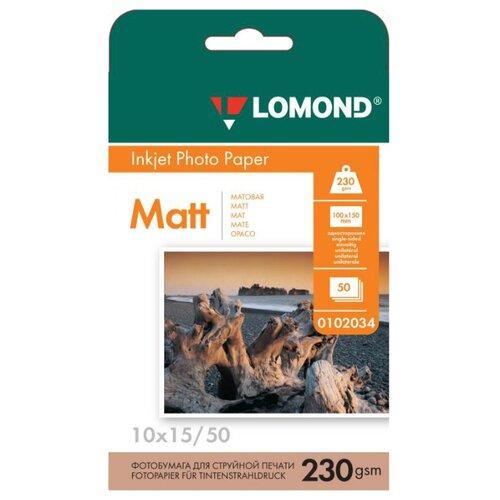 Бумага Lomond A6 Photo Paper 0102084 230 г/м² 50 лист. белый 1 шт.