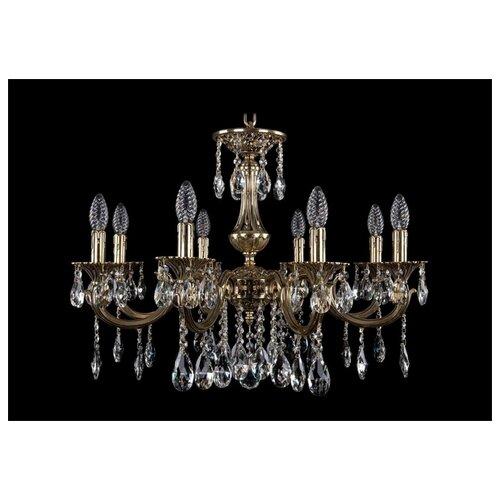 Люстра Bohemia Ivele Crystal 1702 1702/8/250/A/GB, E14, 320 Вт