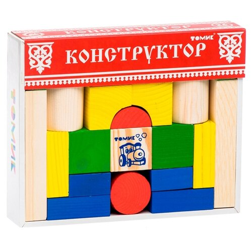 Купить Кубики Томик Цветной 6678-26, Детские кубики