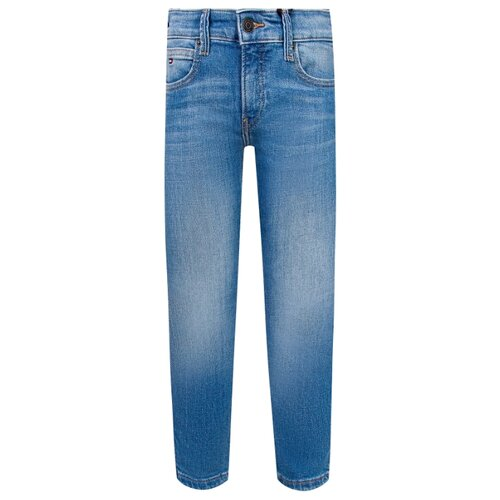 Джинсы TOMMY HILFIGER размер 152, голубой джинсы tommy hilfiger denim