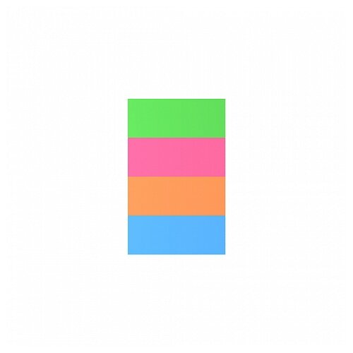 ErichKrause закладки Neon, 20х50 мм, 200 штук (34969)Бумага для заметок<br>
