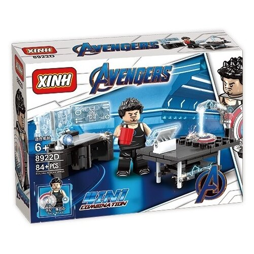 Конструктор Xinh Avengers 8922D Железный человек