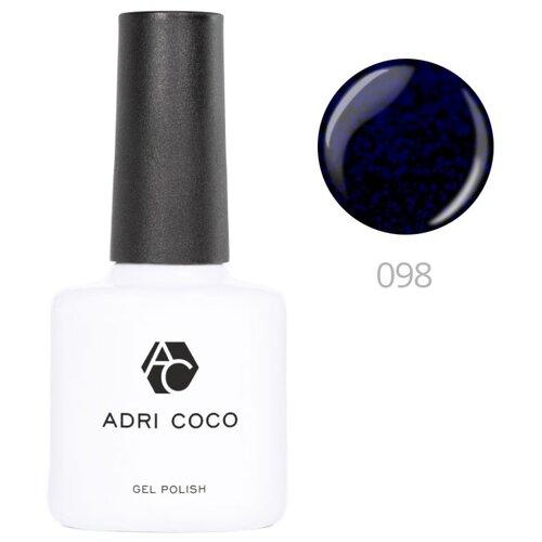 Купить Гель-лак для ногтей ADRICOCO Gel Polish, 8 мл, 098 мерцающий черный василек