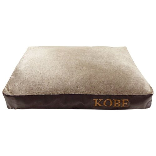 Подушка для собак Fauna International Kobe M 85х65х10 см бежевый/коричневый