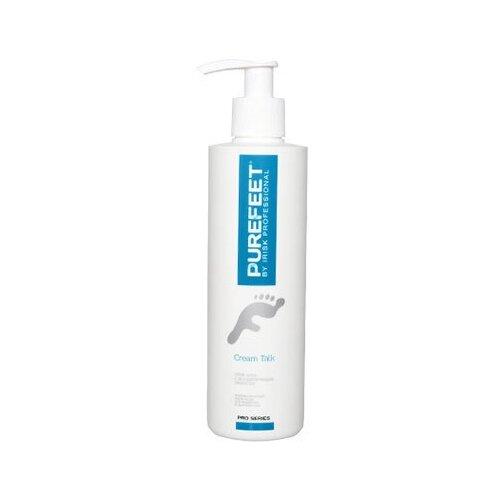 Irisk Professional Крем-тальк PureFeet Cream Talk с дезодорирующим эффектом 250 мл бутылка