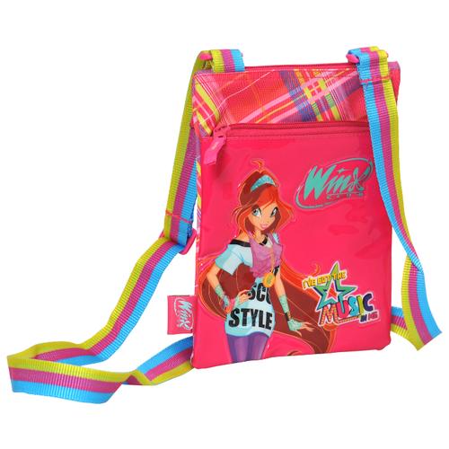 Школьная сумка РОСМЭН Winx Club Rock pailette 20745 розовый, Школьные сумки  - купить со скидкой