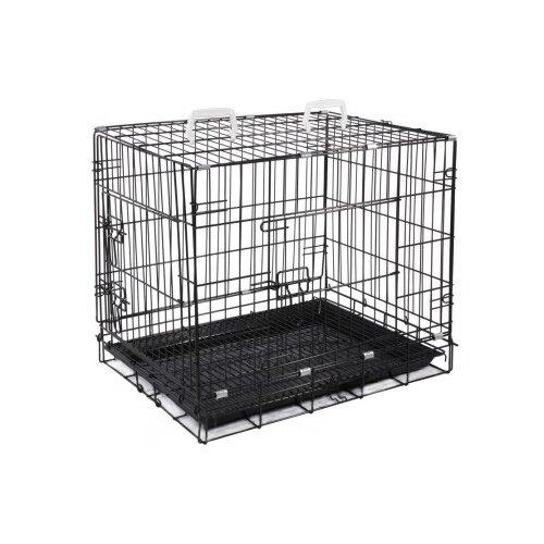 Клетка для собак Triol 30691018 77х56х64 см черный