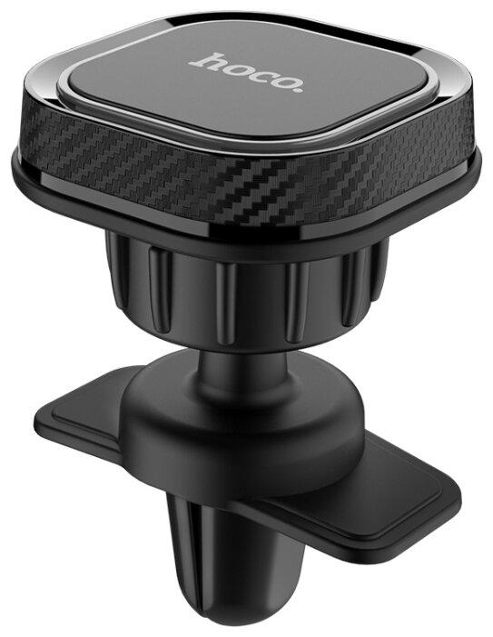Магнитный держатель Hoco CA52 черный/серый фото 1
