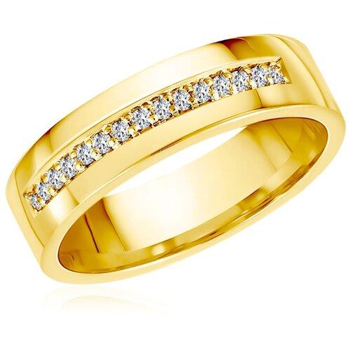 Бронницкий Ювелир Кольцо из желтого золота 55119685, размер 20 бронницкий ювелир кольцо из желтого золота 55020541 размер 20